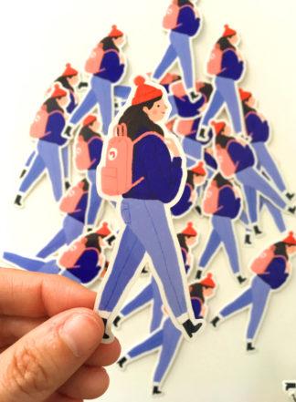 nina cosford sticker