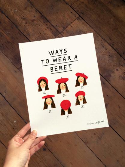 nina cosford berets