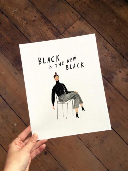 nina cosford black is the new black