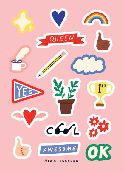 nina cosford stickers