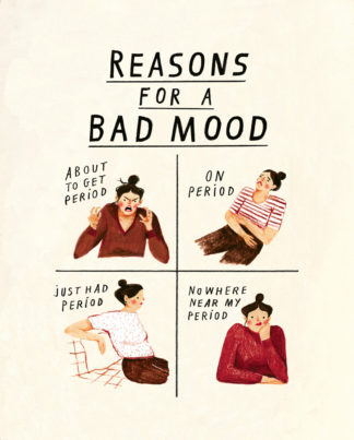 nina cosford easons for a bad mood