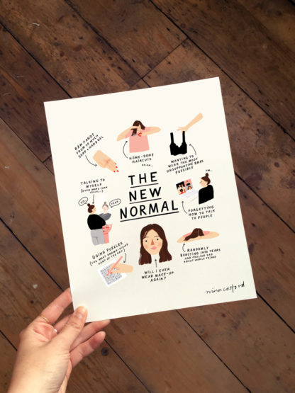 nina cosford the new normal