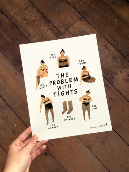 nina cosford the problem with tights