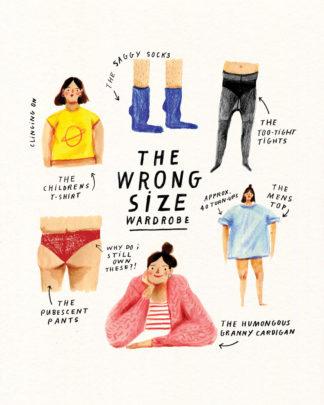 nina cosford wrong size wardrobe