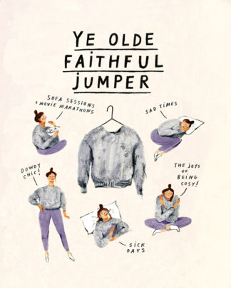 nina cosford ye olde faithful jumper