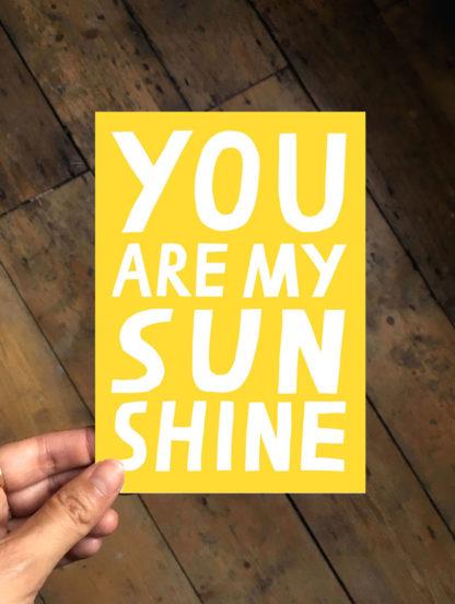 nina cosford you are my sunshine