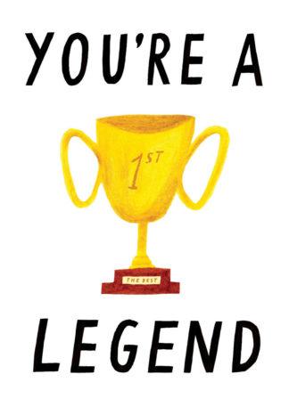 nina cosford you're a legend