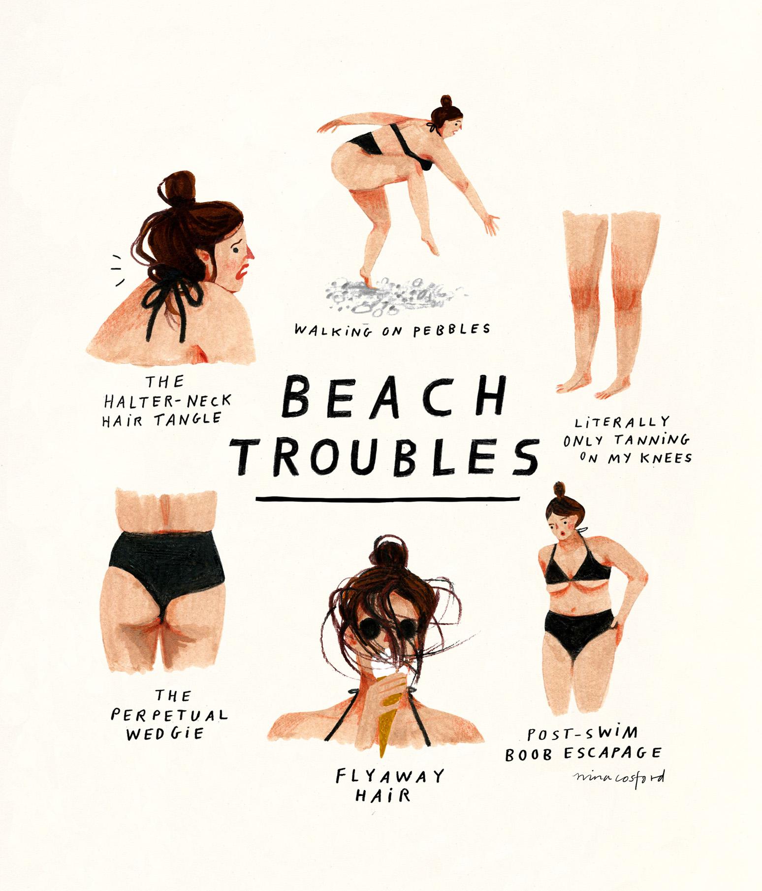BEACH TROUBLES