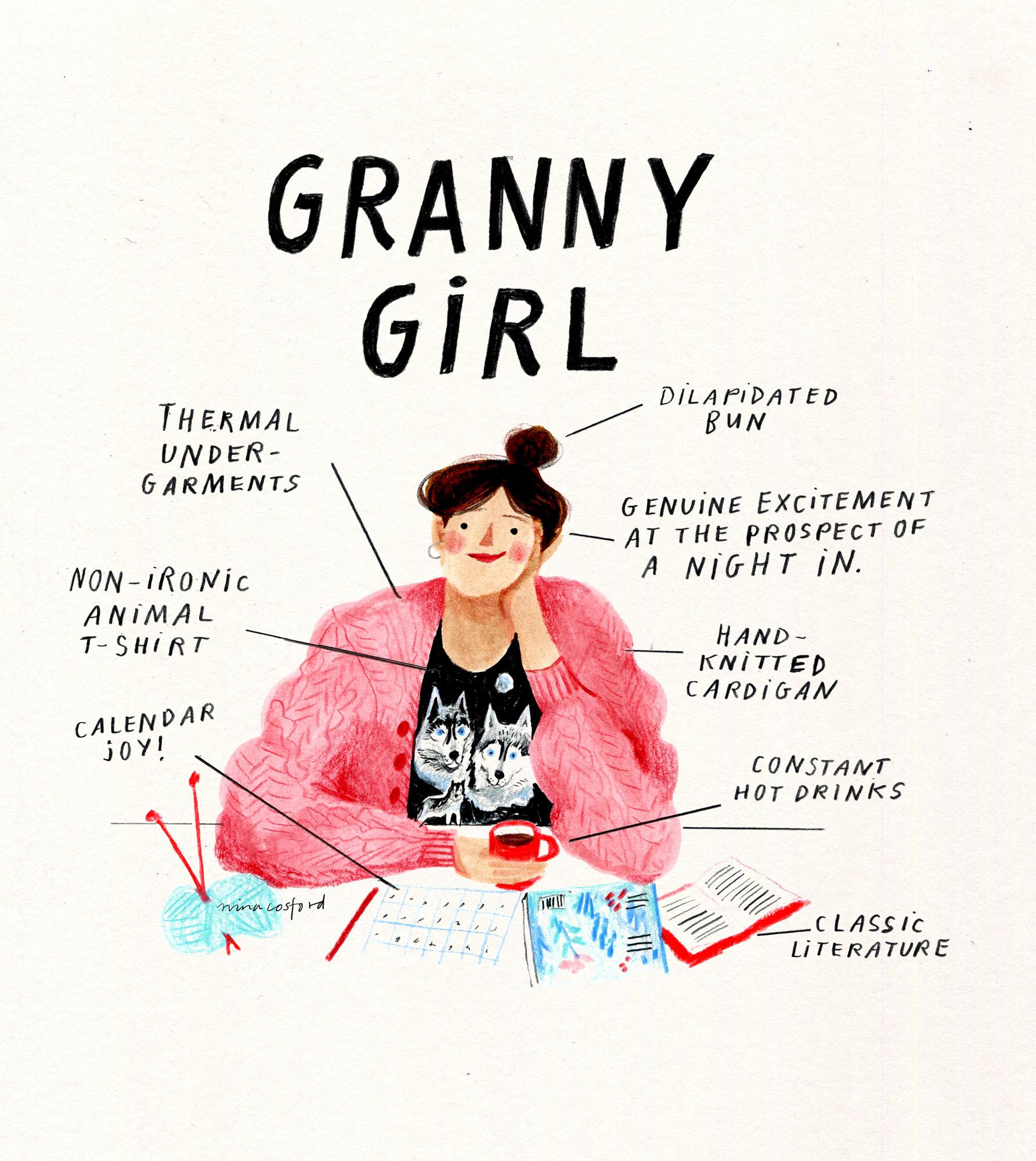 GRANNY GIRL