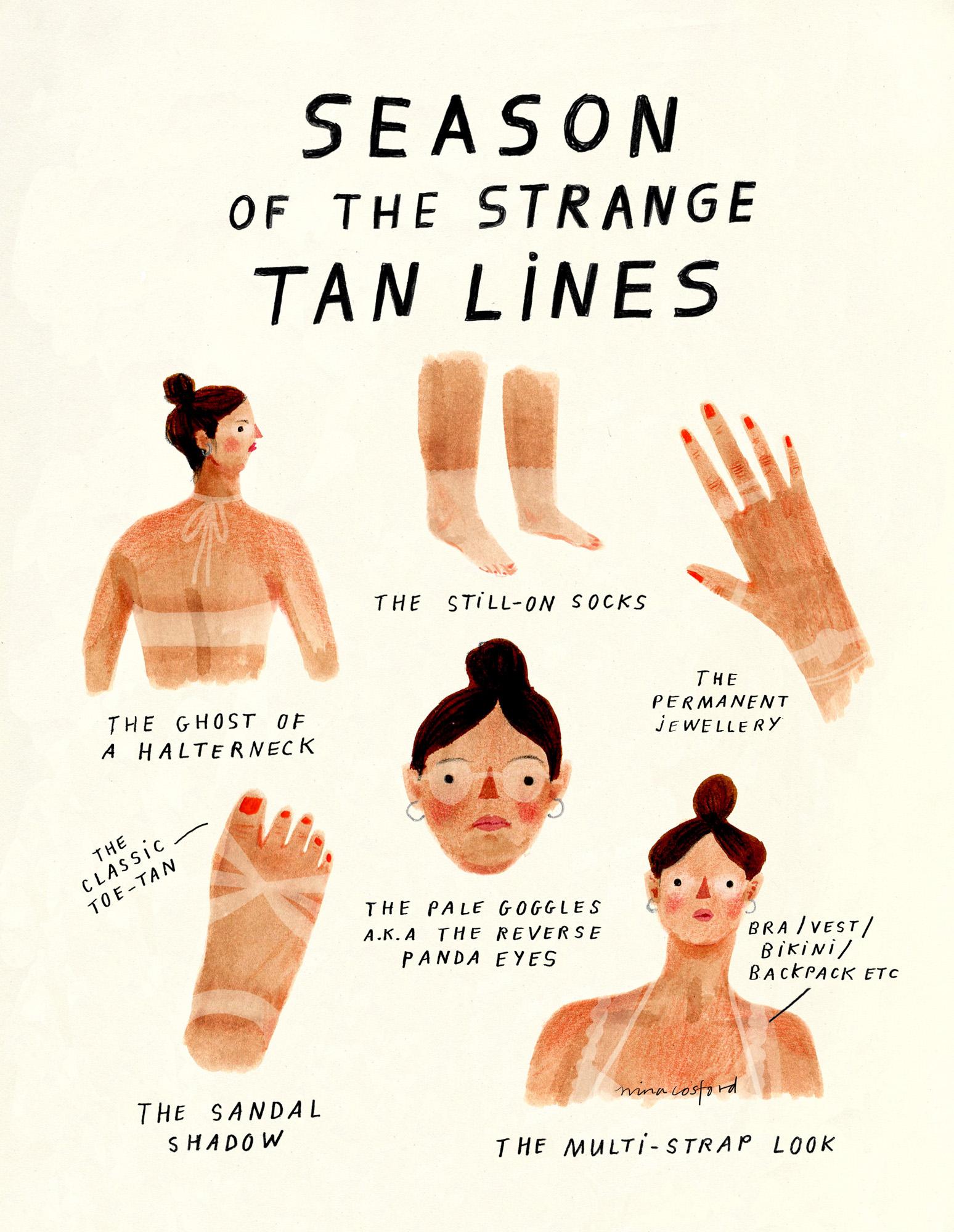 SEASON OF STRANGE TAN LINES