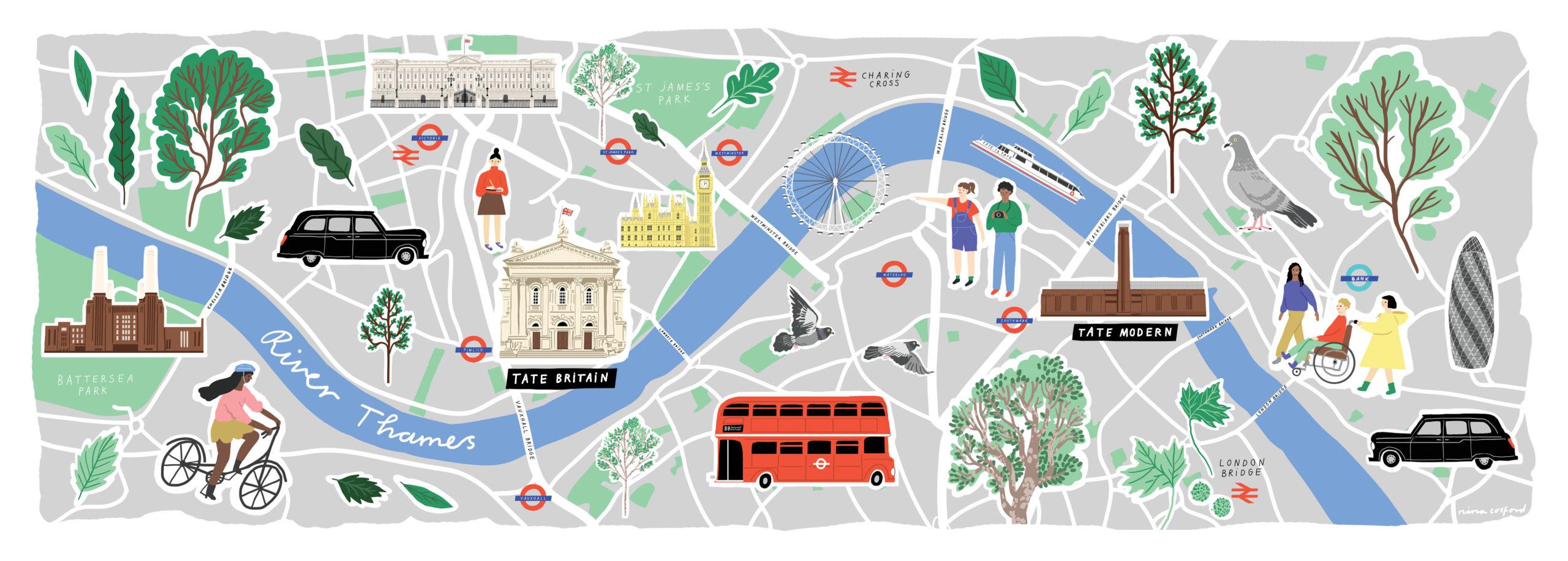 TATE BRITAIN MAP NEW