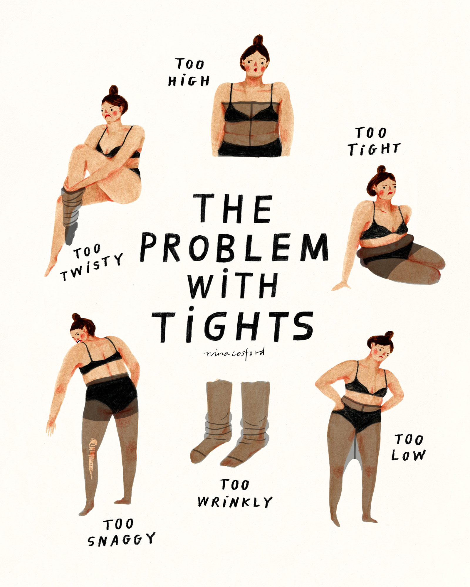 THE PROBLEM WITH TIGHTS